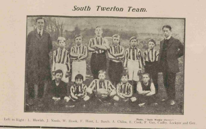 1913-14 South Twerton Football team