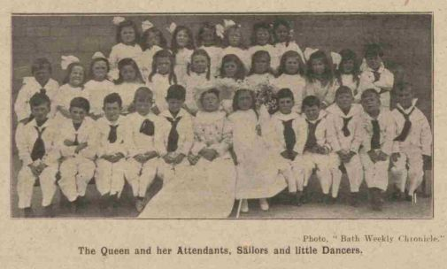May Queen & attendants