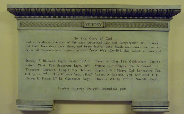 Argyle Congregational Church Memorial