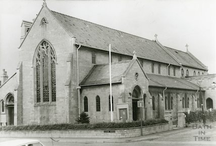 Ascension Church in 1970