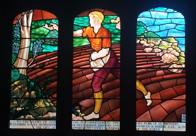 Kingswood School Barber stained glass window