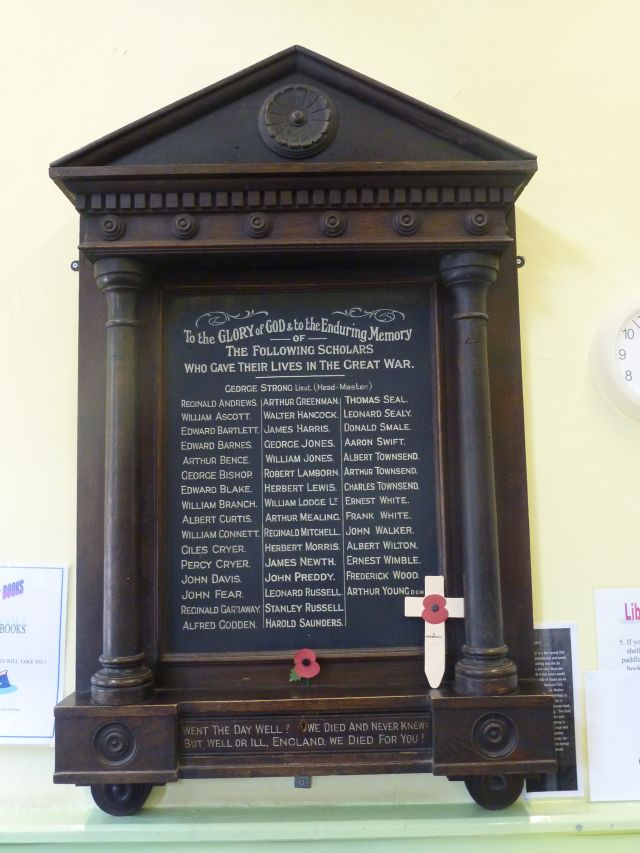 St Saviour's Memorial