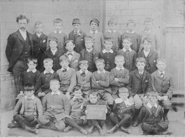 South Twerton Standard V boys circa 1900